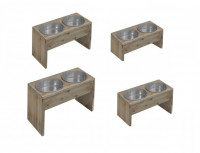 D&D Homecollection Dinnerset (4 parts) Taupe