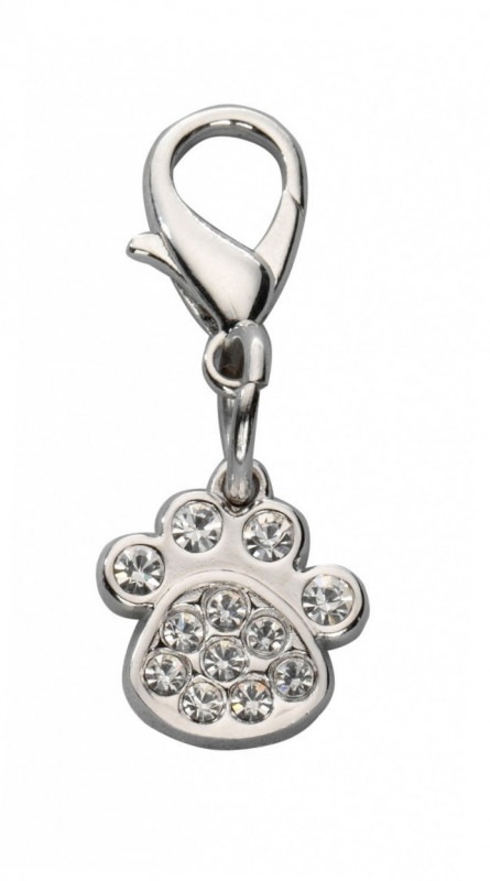Europet-Bernina Pendant Crystal Paw - Charms Silver  buy online