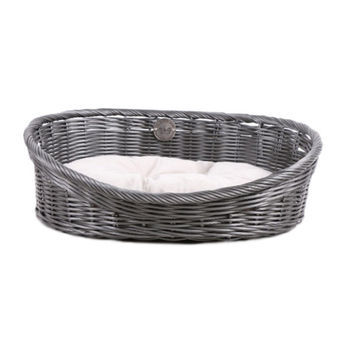 Europet-Bernina D&D Homecollection Rustic Rattan XS 43x36x15 cm