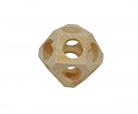 Geo Dice for Hamsters and Mice Beige