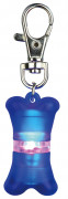 Trixie Flasher for Dogs, blue 2x4 cm
