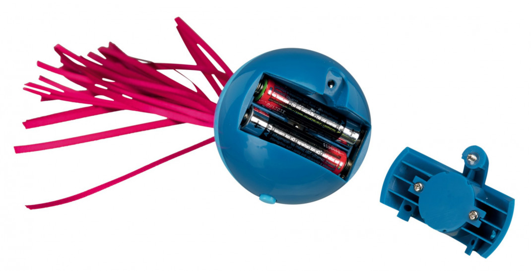 Trixie Pop-up Ball, Plastique  ø6×9 cm