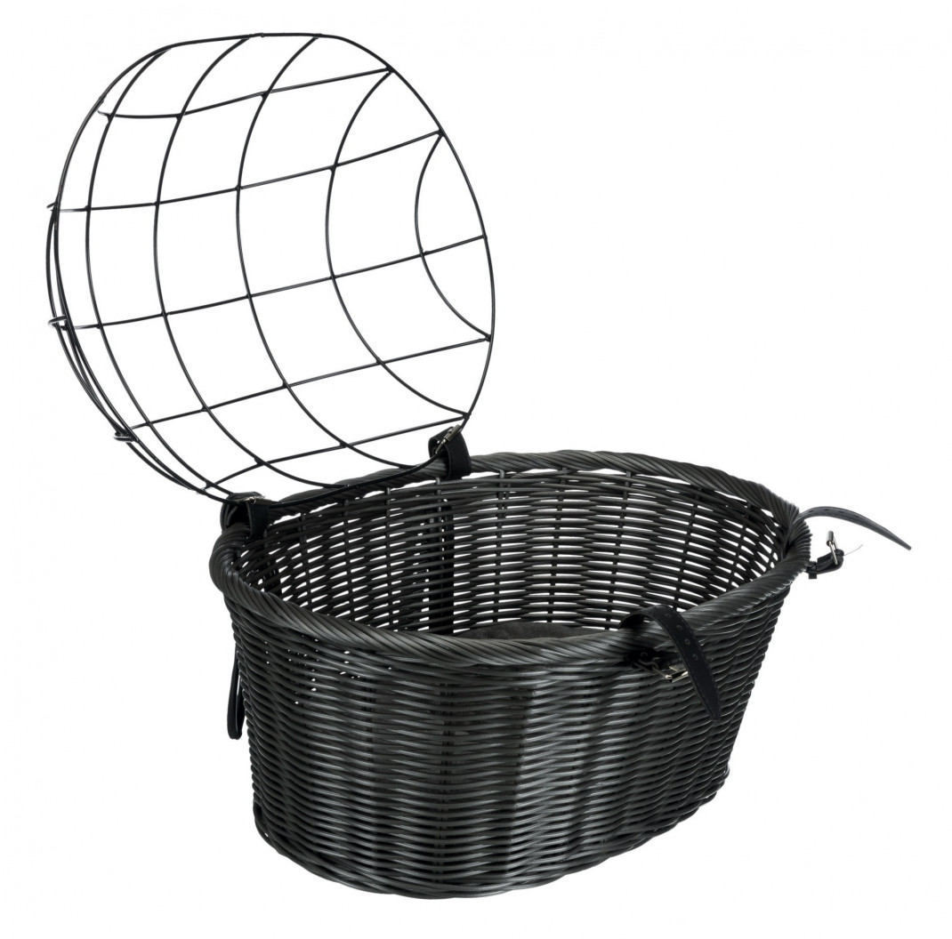 Trixie Bicycle Basket Dark gray 44x34x35 cm buy online