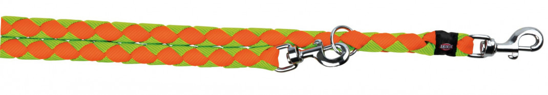 Trixie Cavo Justerbart Koppel  L-XL neon orange/neon green