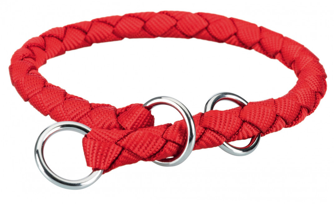 Trixie Cavo Stop-the-pull Collar  Red 52-60x1.8 cm order cheap