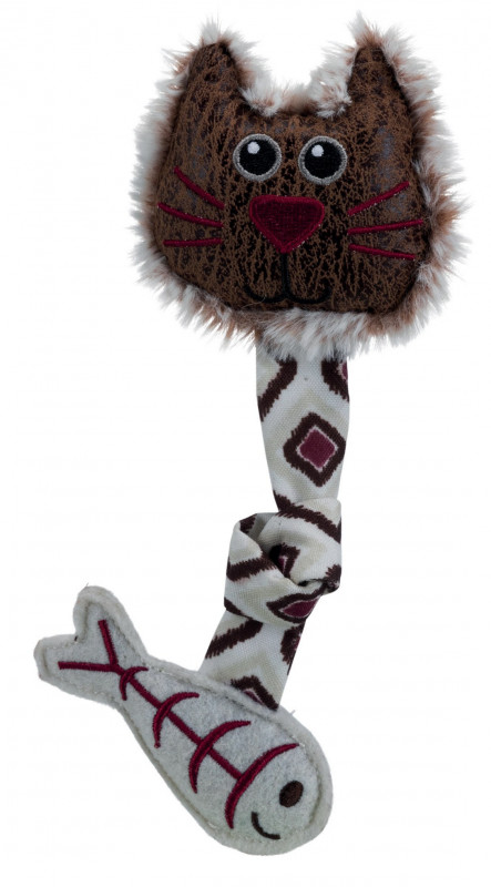 Trixie Chat Face, Peluche/Tissu 20 cm