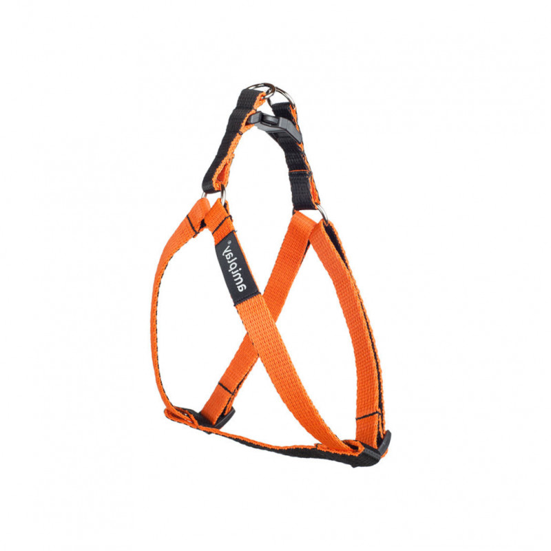 Amiplay Harnais Réglable Twist  Orange L