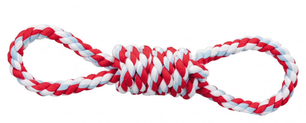 Trixie Playing Rope 38 cm Red