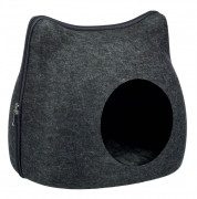 Trixie Cat Cuddly Cave, anthracite 38x35x37 cm