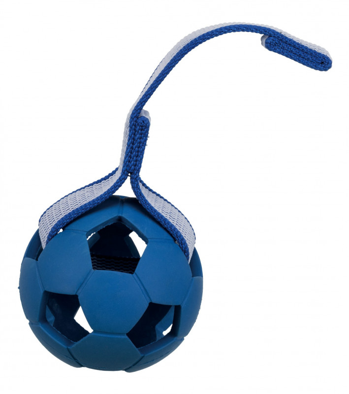 Trixie Sporting Ball on a Strap, Natural Rubber and Polyester EAN: 4011905328225 reviews