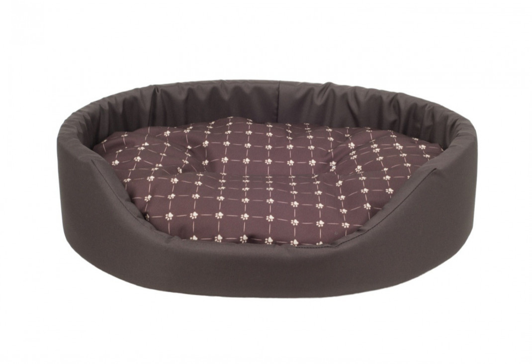 Amiplay Oval bedding Fun  Dark brown L order cheap