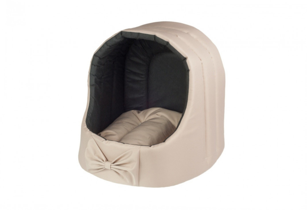 Amiplay Cueva ovalada Basic  Beige marrón L
