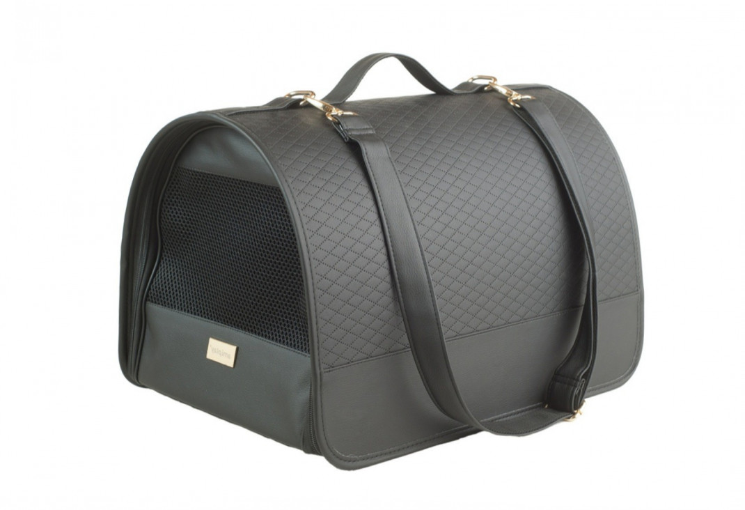 Amiplay Panier de Transport New York  Noir M