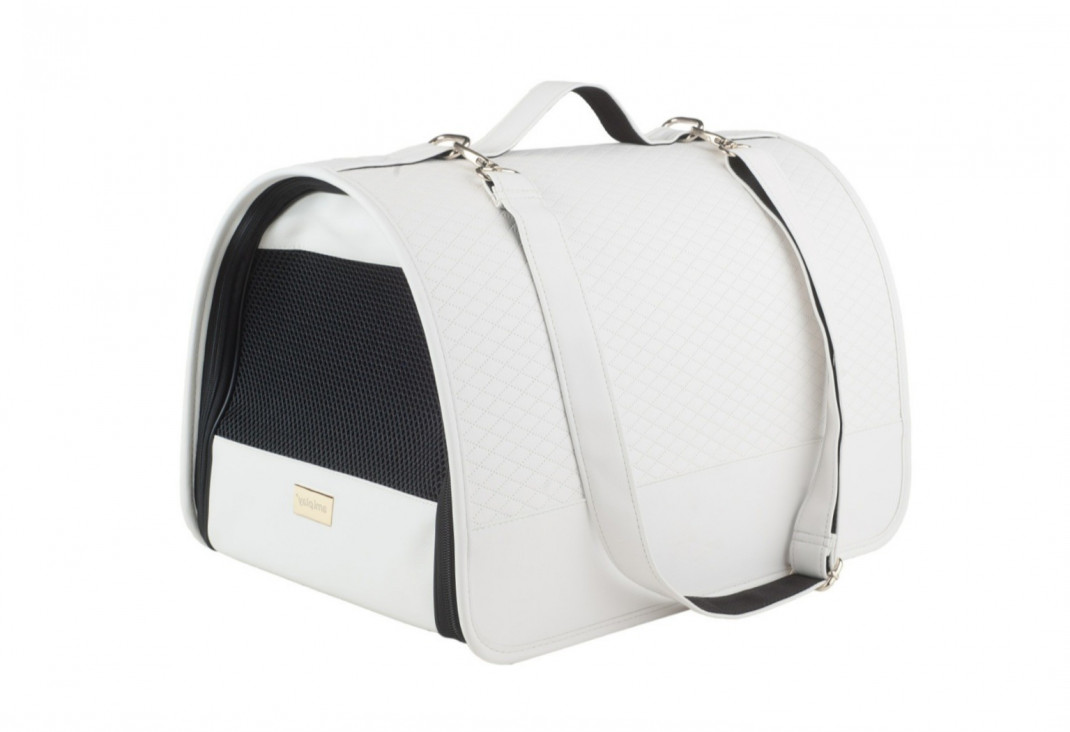 Amiplay Panier de Transport New York  Blanc M