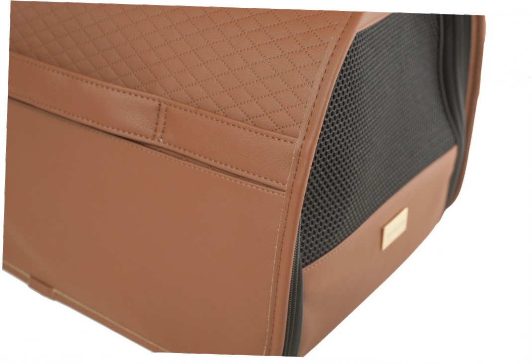 Amiplay Panier de Transport New York  Brun L