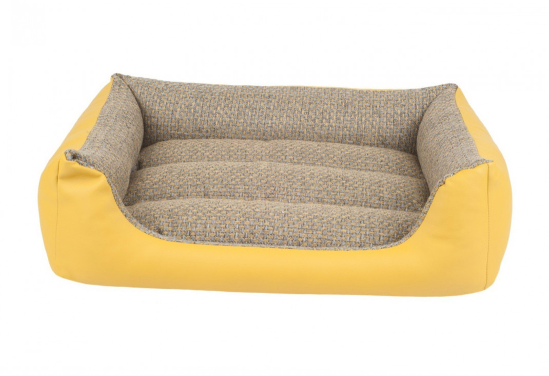 amiplay Sofa ZipClean 4 in 1 Morgan Gelb XXL