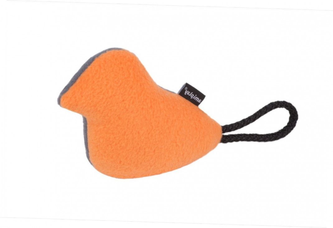 Amiplay Plush Bird  Orange