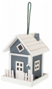 Bird House Iceland Vit