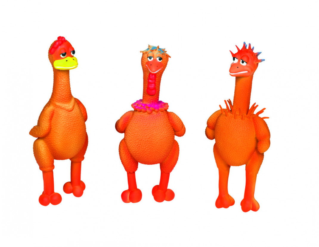Nobby Figuras de Látex Cool Chicken 21-22 cm