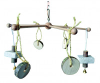 Rodent Mobile 6-arms with Chain 30 cm