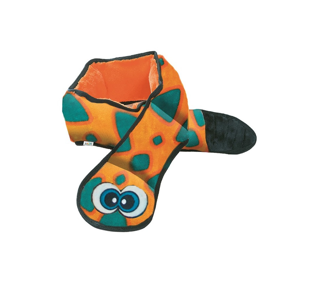 Outward Hound Invincibles Snake  Orange XL