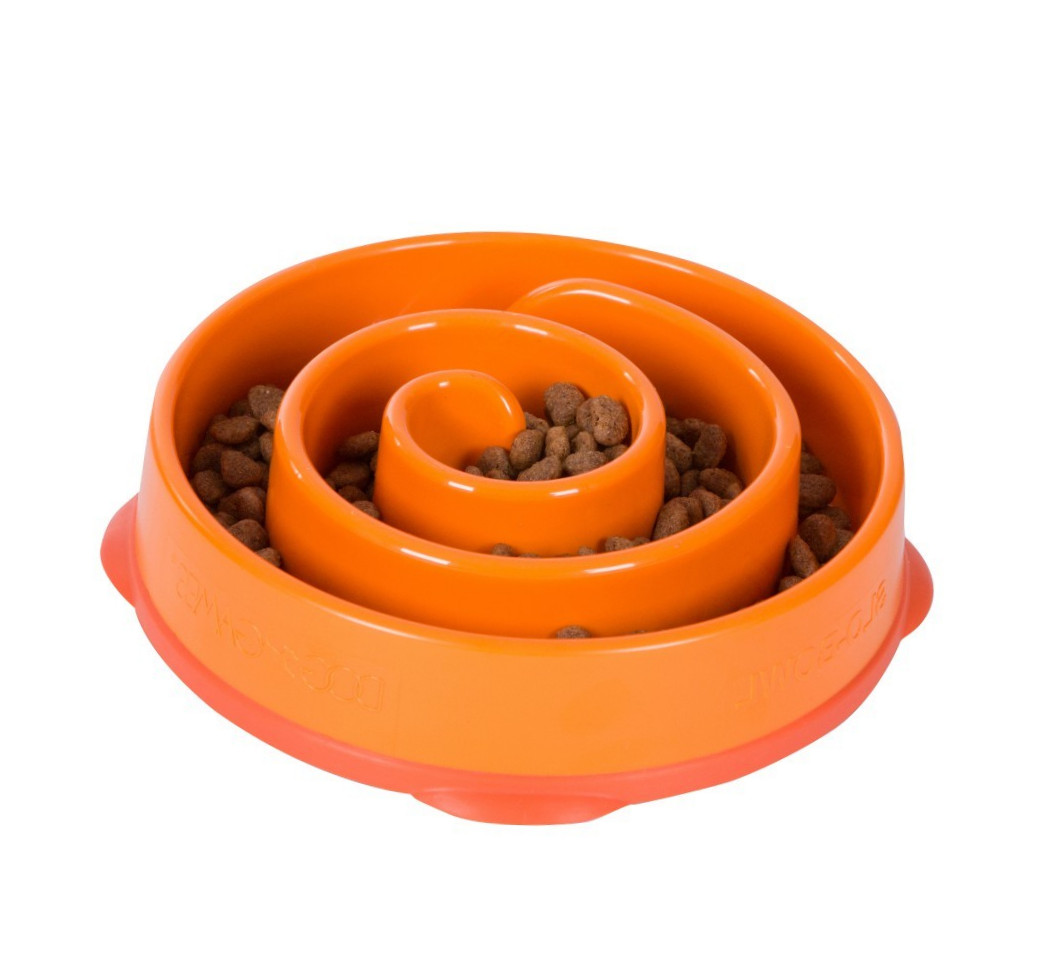 Outward Hound Fun Feeder Mini Orange Mini