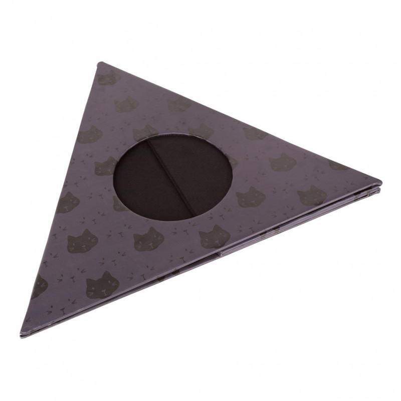 District 70 Triangle Cats  Gris foncé 60x60x50 cm
