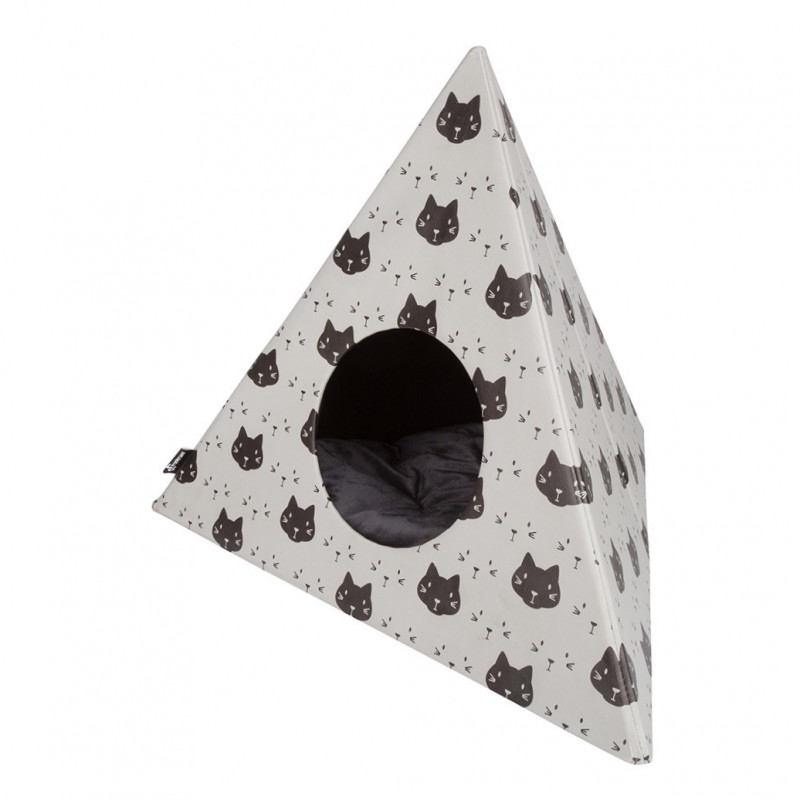 District 70 Triangle Cats 60x60x50 cm 8717202613038