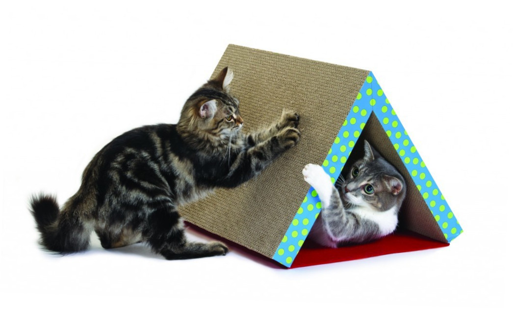 Petstages Fold Away Scratching Tunnel