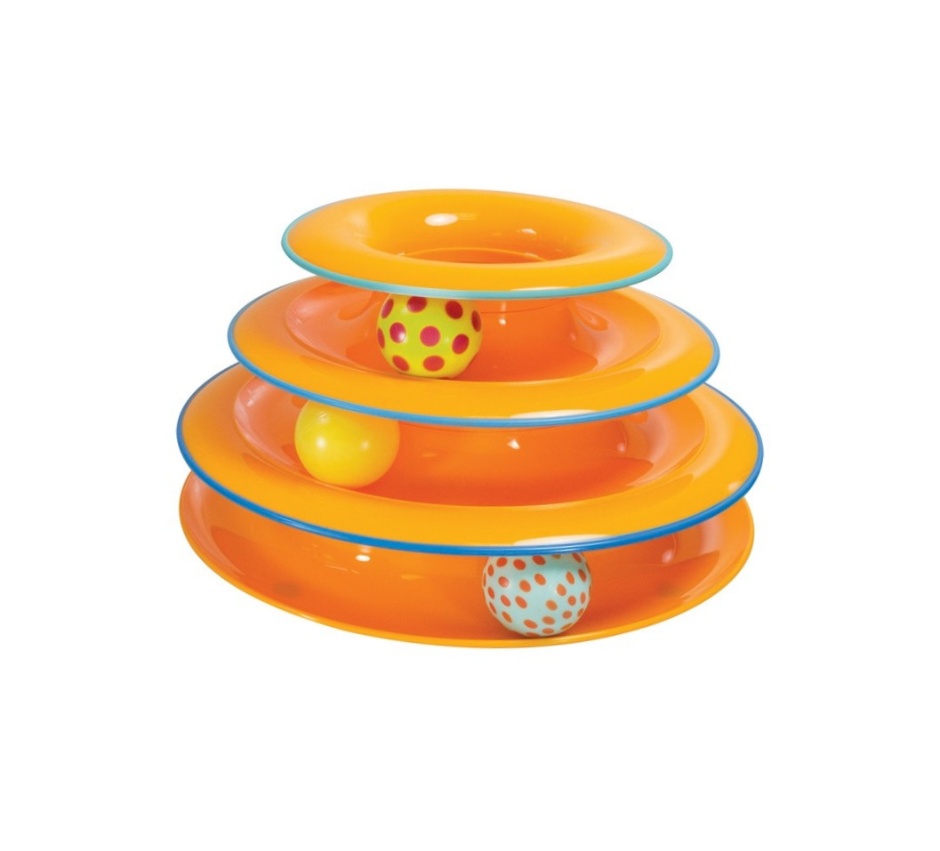 Tower of Tracks Orange 25 cm von Petstages online günstig kaufen