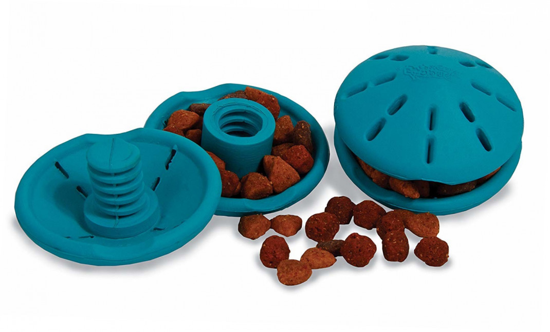 PetSafe Busy Buddy Puppy Twist 'n Treat  prueba