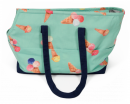 Beach Travelbag Ice-cream Petrolio verde