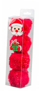 Armitage Pet Care Good Girl Santa Balls Rosso
