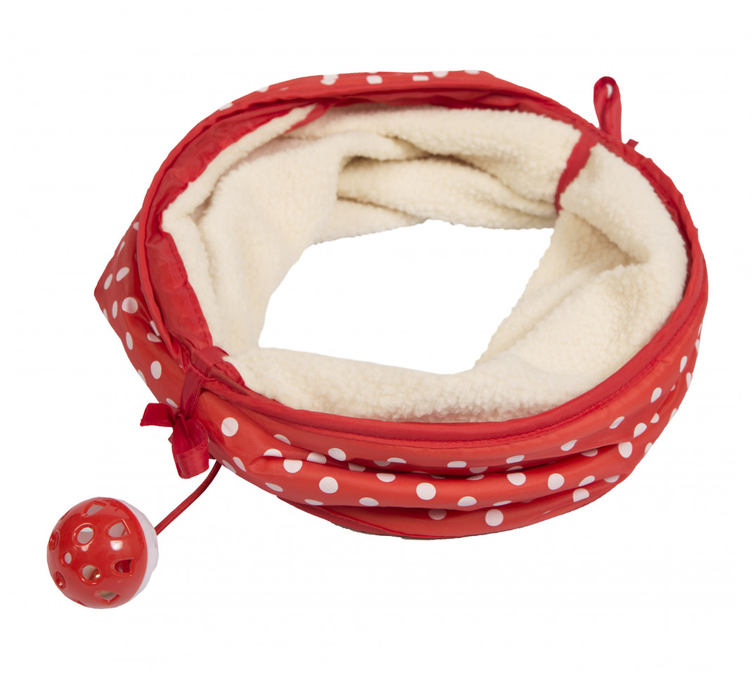 Armitage Pet Care Good Girl Cat Tunnel  Rosso 35 cm
