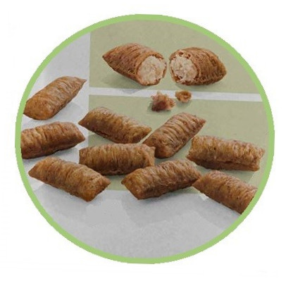 Meracat Finest Fit Snacks Creamy Bits Giant with Chicken and Cheese 80 g osta edullisesti