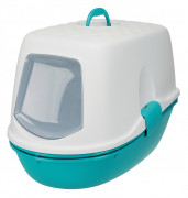 Berto Top Litter Tray, with Separating System, Threepart Aqua
