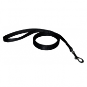 Training Leash Nylon Svart