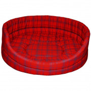 Oval Bed Collection Standard Red
