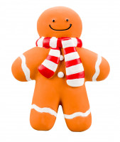 Good Boy Squeaky Gingerbread Man 17 cm
